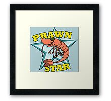 Prawn Star Framed Print