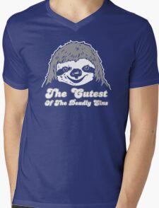 The Cute Face Mens V-Neck T-Shirt