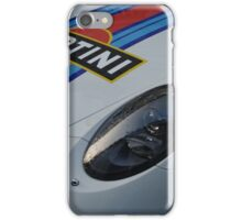 Porsche Martini Livery Detail iPhone Case/Skin