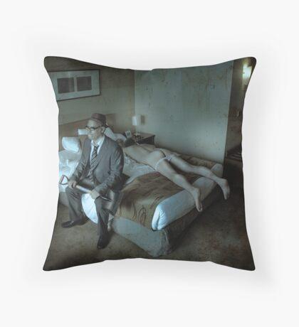 A Spade For A Spade Throw Pillow