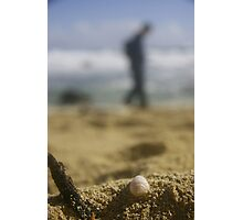 treasure hunting Photographic Print