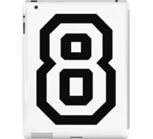 Number Eight iPad Case/Skin