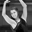 The figure skater pose. by Erik Anderson