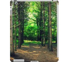 Wooded Catherdral iPad Case/Skin