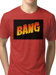 Cartoon Bang by Chillee Wilson Tri-blend T-Shirt