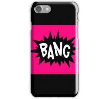 Cartoon Bang by Chillee Wilson iPhone Case/Skin