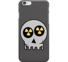 NUCLEAR FALL-OUT SKULL by Chillee Wilson iPhone Case/Skin