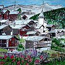 Swiss Village by Monica Engeler