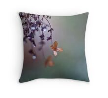 The last tears of winter Throw Pillow