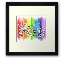 The Rainbow Connection Framed Print