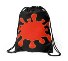 Blood Spatter by Chillee Wilson Drawstring Bag