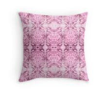 Decorative Textiles -Tadpole series: Pink girlz rule Throw Pillow