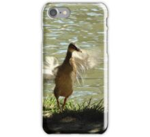 No need to flap. iPhone Case/Skin