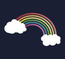 Retro Rainbow Kids Tee