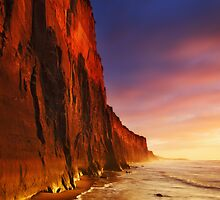 Morning Light on Demon's Bluff - Anglesea by Mark Shean