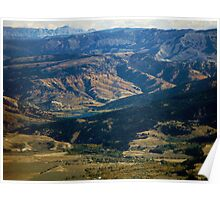 Fall in Snake River Valley ~ Idaho  USA Poster