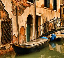Sunday in Venice by Mick Burkey