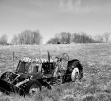 Beachnut Tractor II by Heather A McGhee