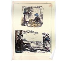 The Little Folks Painting book by George Weatherly and Kate Greenaway 0109 Poster