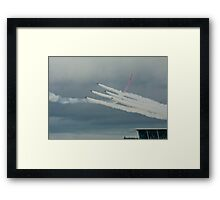 "Red Arrows ""Goose"" Framed Print"
