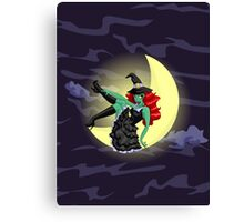 Witchful Thinking! Canvas Print