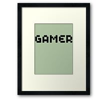 Retro Gamer by Chillee Wilson Framed Print