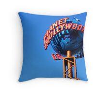 Planet Hollywood Throw Pillow