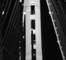 Golden Gate Blur Sticker
