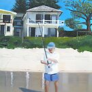 Beach House - Life on Palm Beach  by Tash  Luedi Art