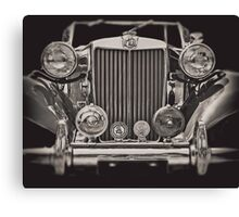 This Old MG Canvas Print