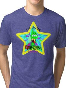 Ultimate Platforming Hero - Crazy Laughter Tri-blend T-Shirt