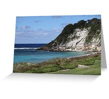 Ned's Beach on Lord Howe Island Greeting Card