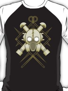 Tribal retro gasmask T-Shirt