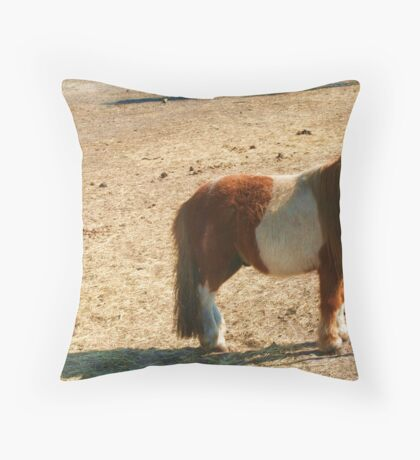 He is a loner...but oh so cute! Throw Pillow