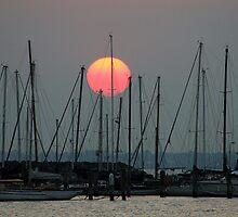 St Kilda Marina Sunset by Marlin1956
