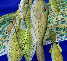 Animal Skins: Scrawled Filefish by Jedro
