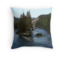 In the Center of His Will Throw Pillow