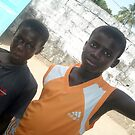 two gambian boys  by elisabeth tainsh