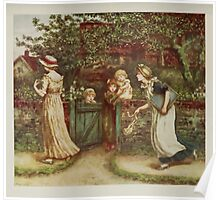 Kate Greenaway Collection 1905 0229 Lucy Locket Lost Her Pocket Poster