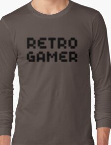 Retro Gamer by Chillee Wilson Long Sleeve T-Shirt