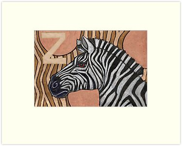 Z is for Zebra by Lynnette Shelley