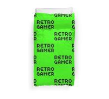 Retro Gamer by Chillee Wilson Duvet Cover