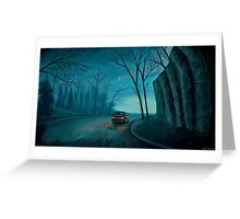 Night Ride Greeting Card