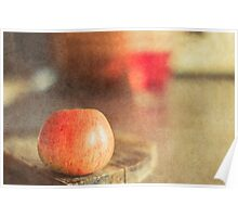 Apple Texture Poster