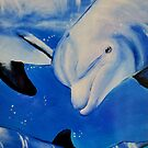 """""""Dolphins"""" series by Taniakay"""