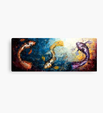 Swimming in the Light Canvas Print