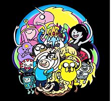 What Time It Is? Adventure Time  by KakenC