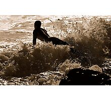 GLIDER SURFER  Photographic Print