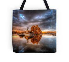 Storm Rock Tote Bag