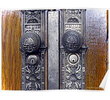 Temple Doors ~Salt Lake Temple Poster
